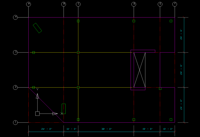 Import Architectural Dxf Or Dwg Floor Plans Into Etabs For