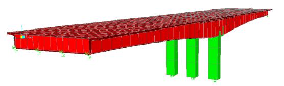 Concrete box-girder bridge model - Tutorials - Computers and