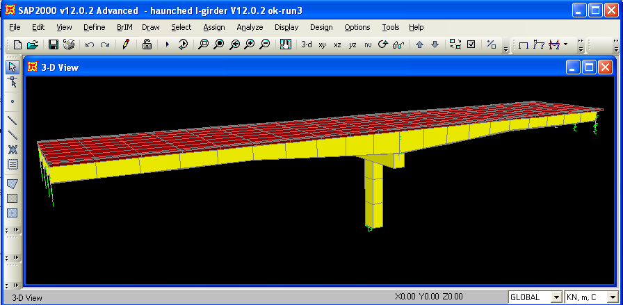 Haunched Steel Girder Bridge Tutorials Computers And