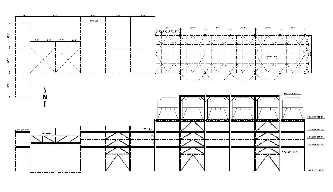 Pipe Rack Load Calculation & Steel Structure Design U0026